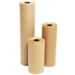 Strong Brown 90gsm 500mm Kraft Wrapping Paper on a Roll